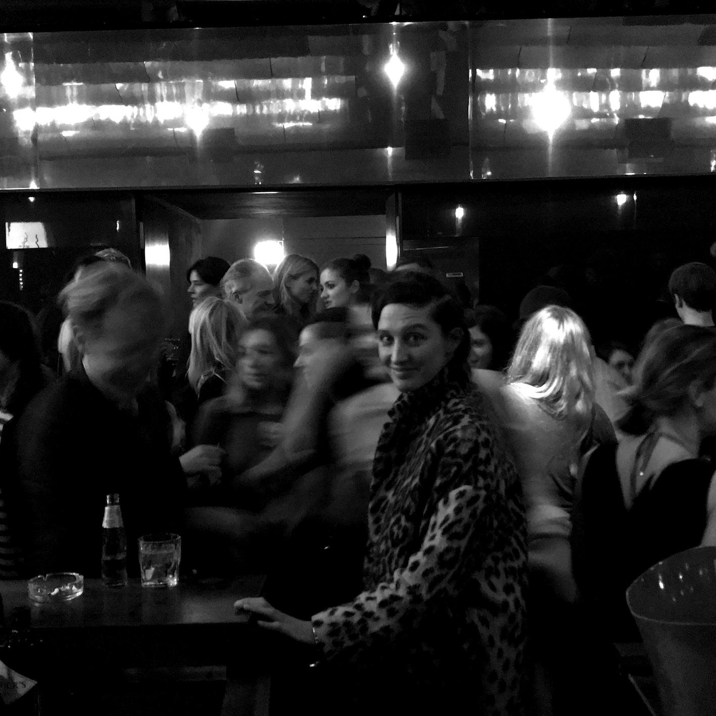 Party des Festivals of Future Nows zusammen mit dem Zeit Magazin und Weltkunst in der Bar Tausend