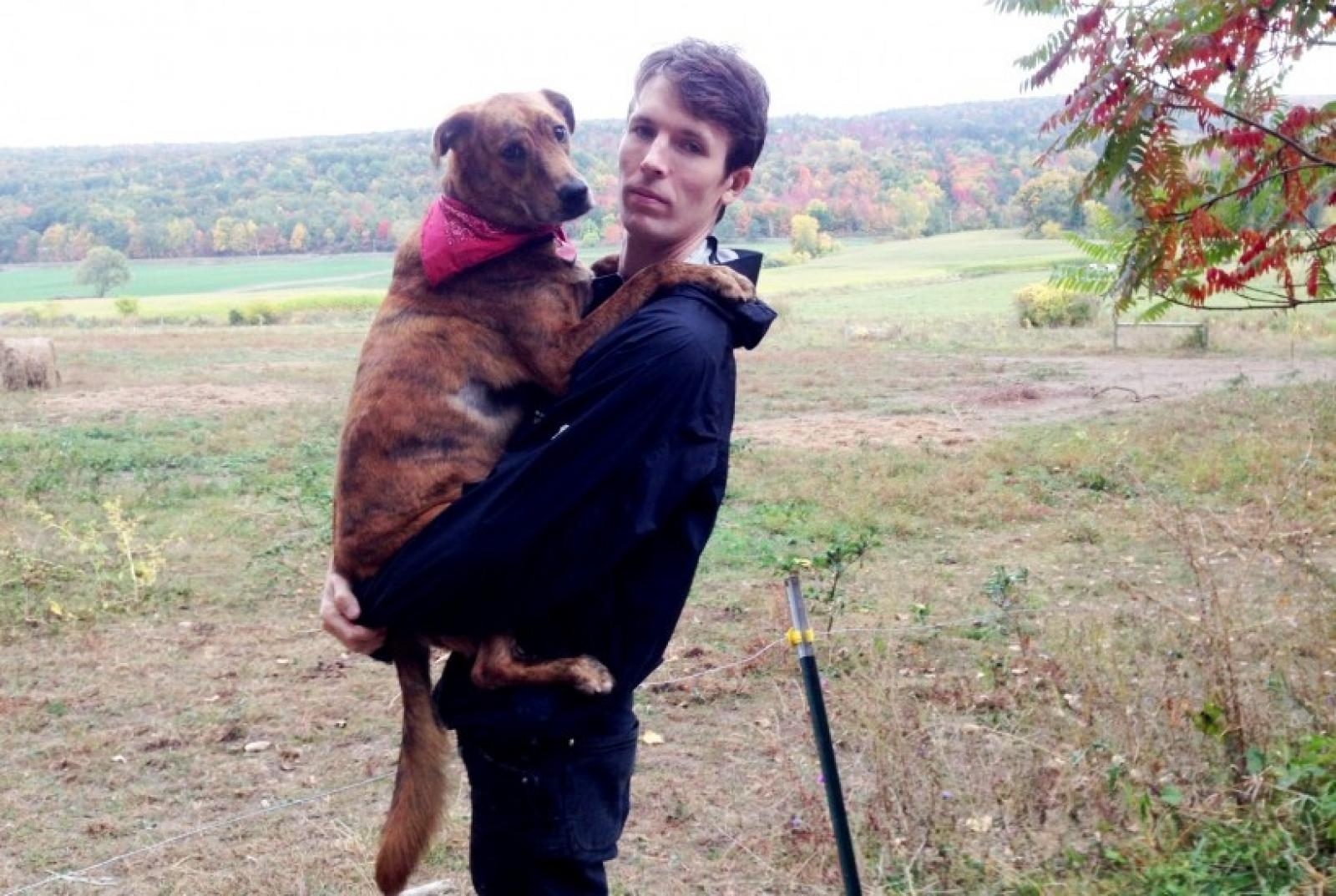 Ryan McGinley and Dick The Dog