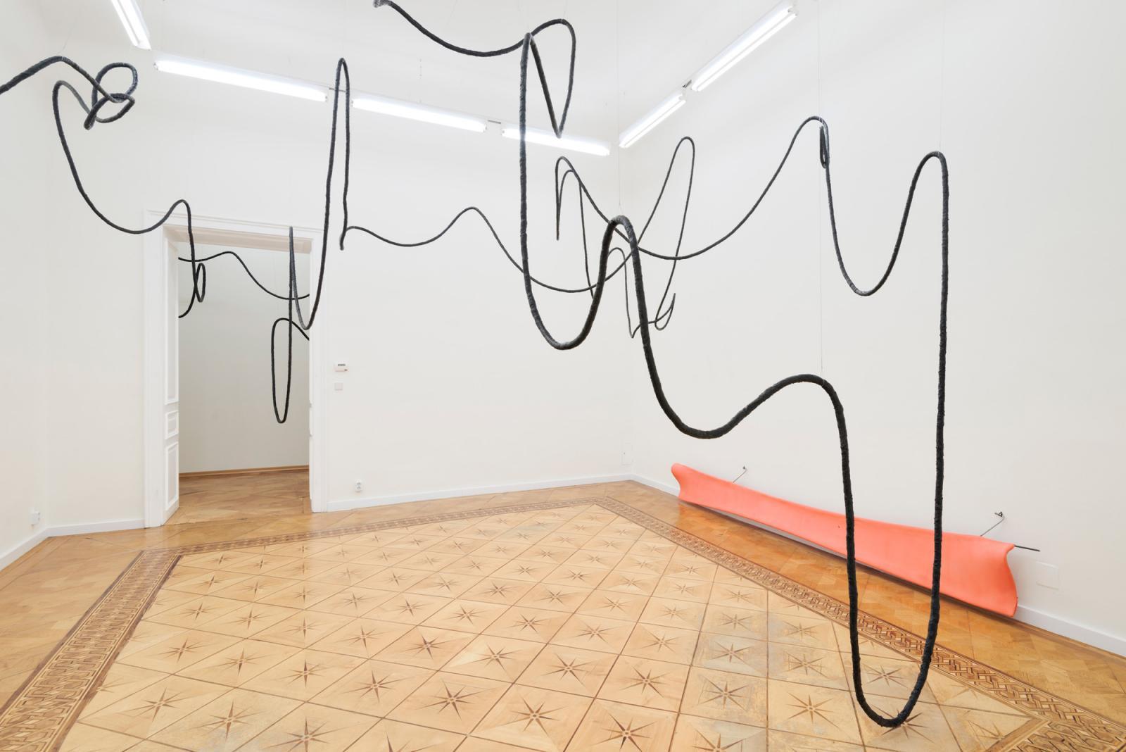 Olga Balema, Marlie Mul, Isa Tarasewicz (2017) installation view at Croy Nielsen