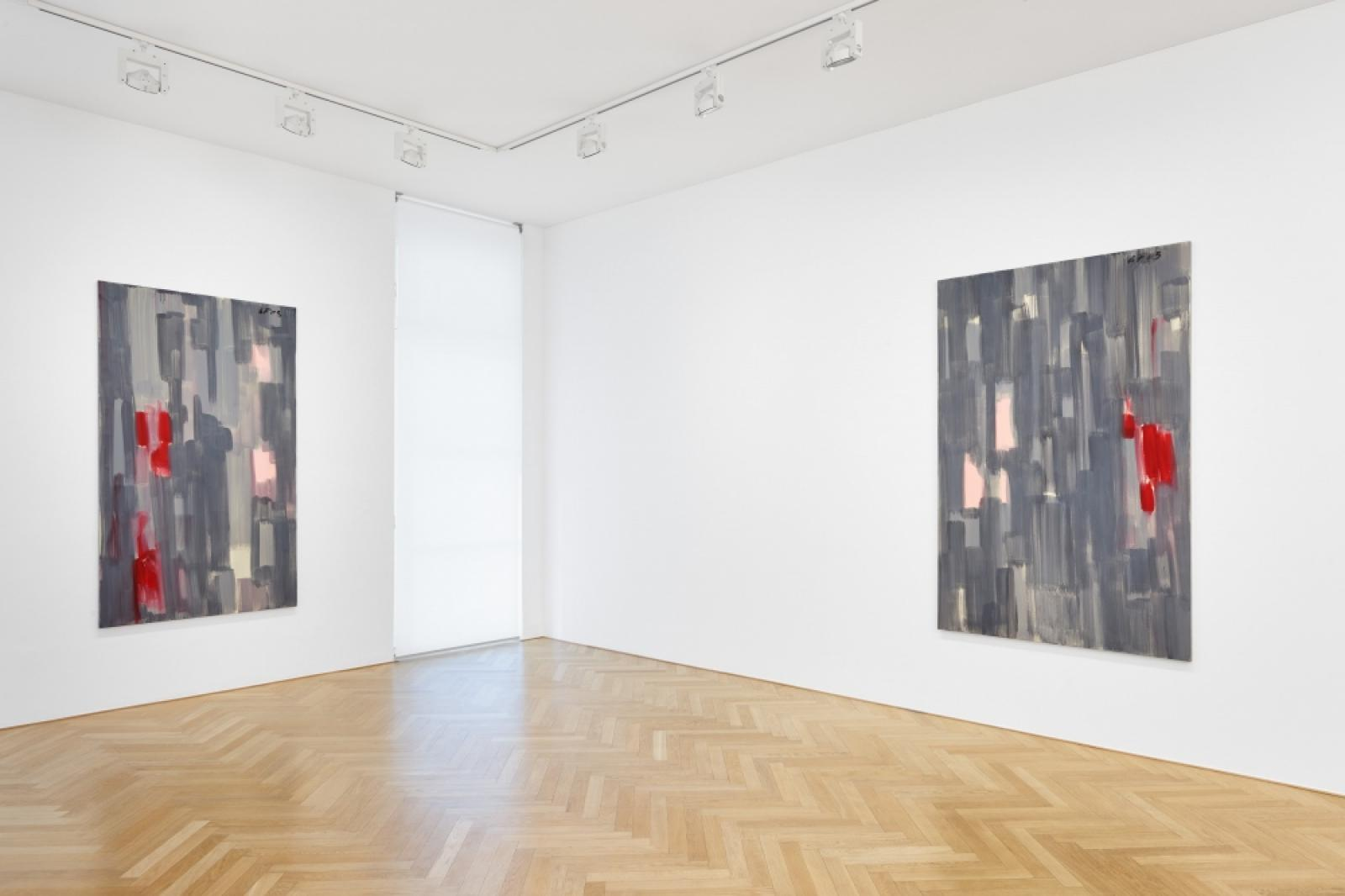 Günther Förg installation view at Galerie Max Hetzler