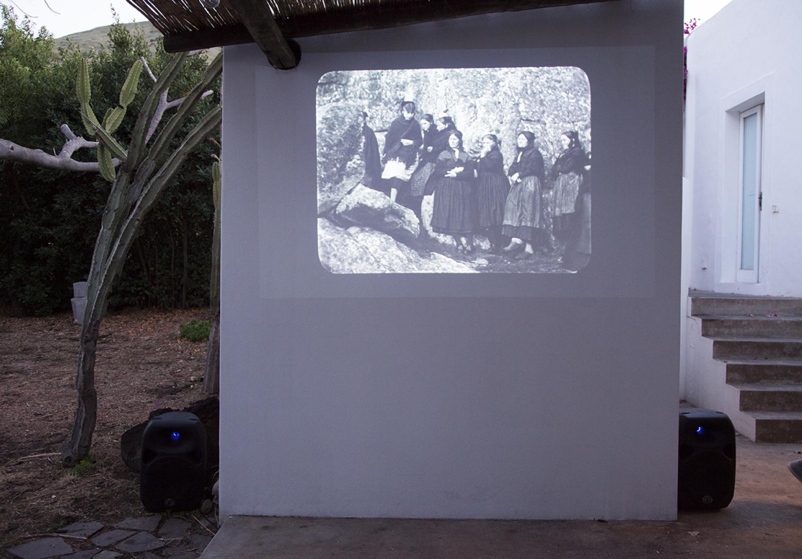 Film screening Photo:Giovanna Silva Courtesy Fiorucci Art Trust, London