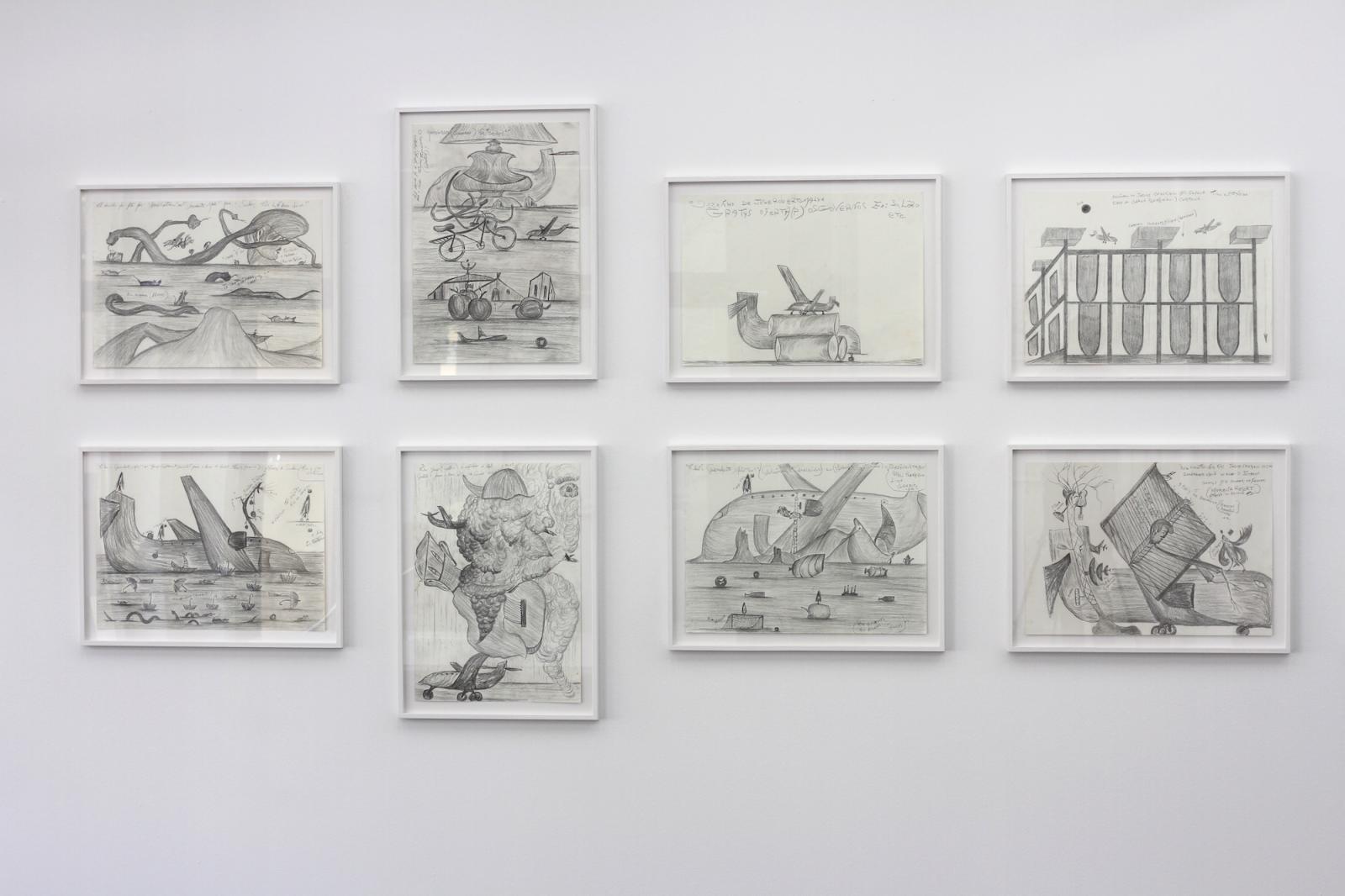 Jesuys Crystiano installation view at Delmes&Zander