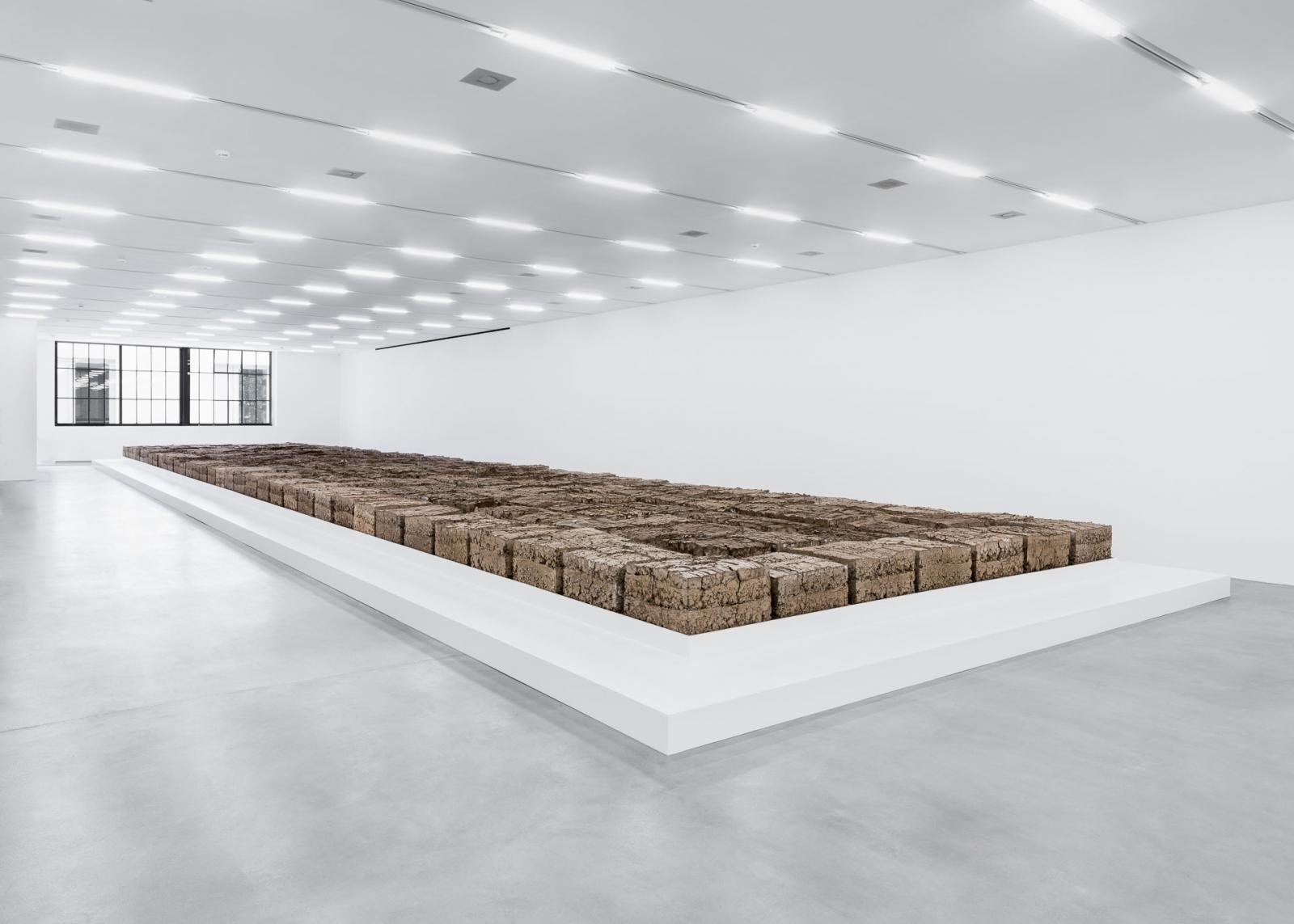 Mike Bouchet Installation view/The Zurich Load/at Löwenbräukunst Photo: Manifesta 11 / Camilo Brau