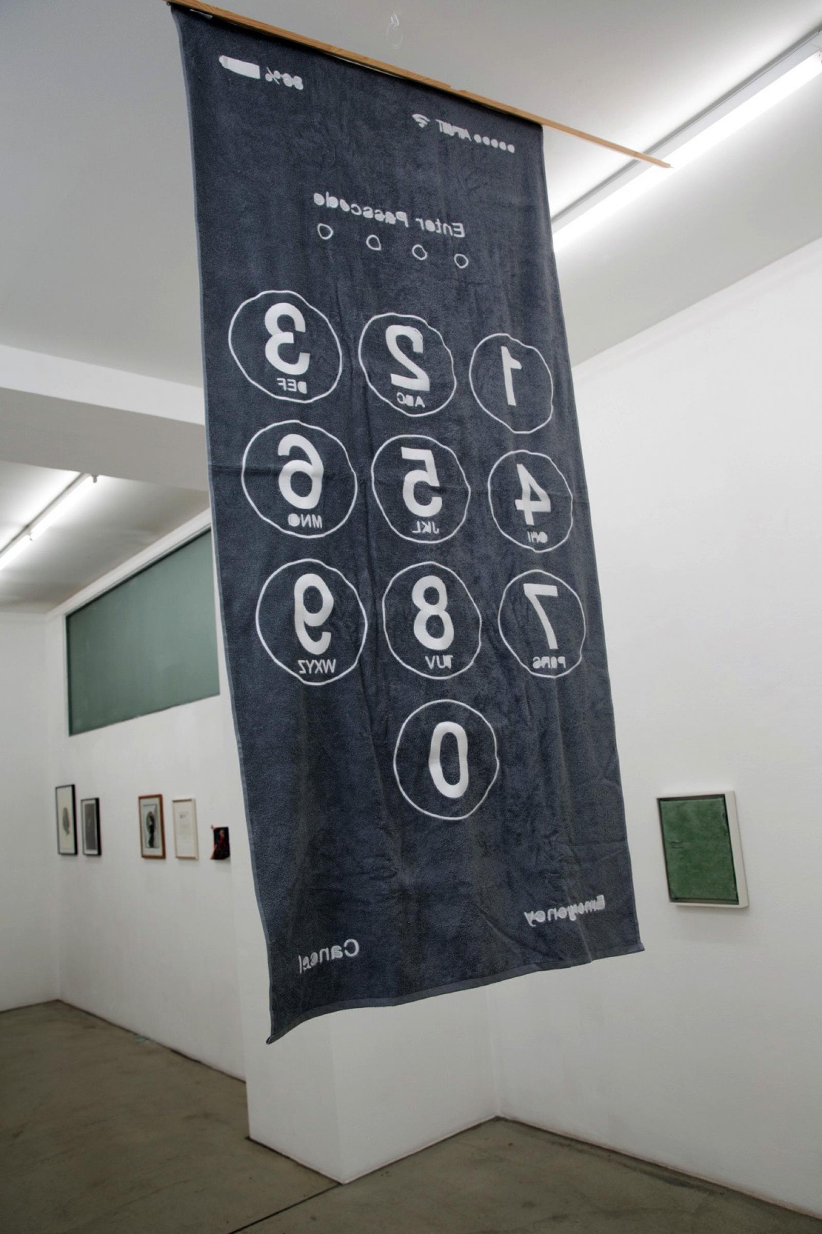 Artwork by Hoffmann Oswald Gabriele Senn Galerie curated by Cosima von Bonin Photo:eSeL