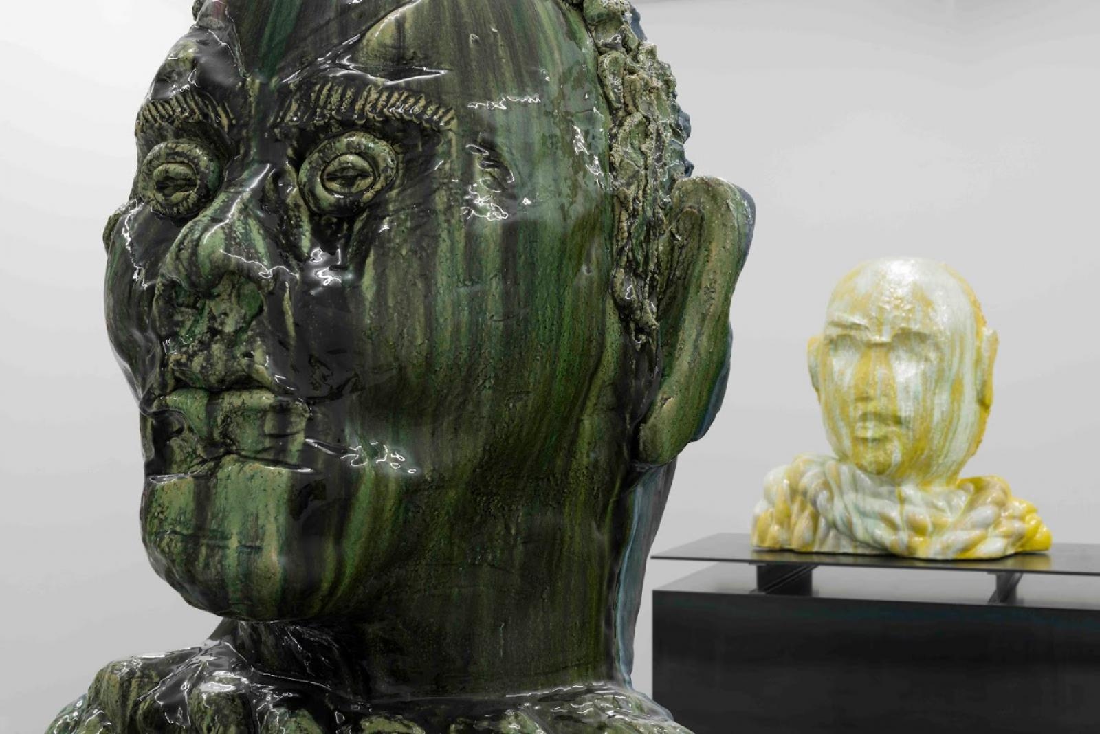 Thomas Schütte installation view atCarlier | Gebauer; Courtesy the artis andCarlier |  Gebauer
