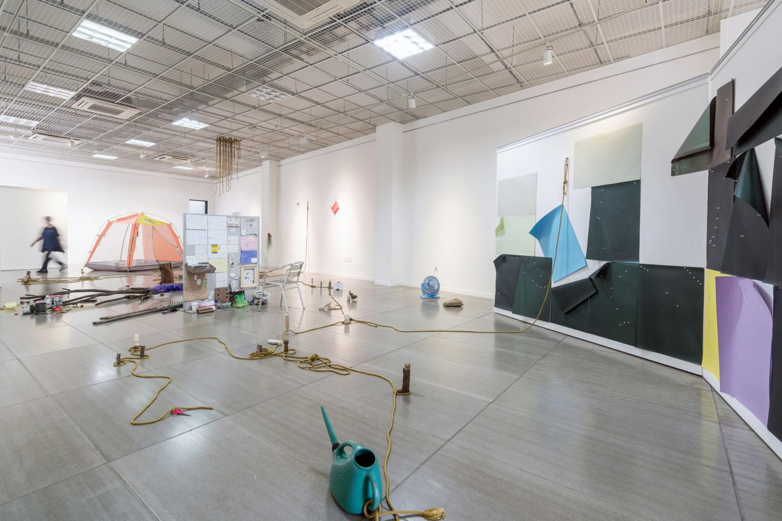 Bernd Krauß Installationsansicht /T.U.N./, 2016