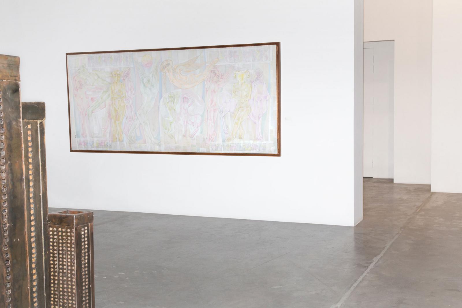 Ayyam Gallery Front: /BurjelMurr/byGinane Makki Bacho Back: /Untitled /byLeila Nseir