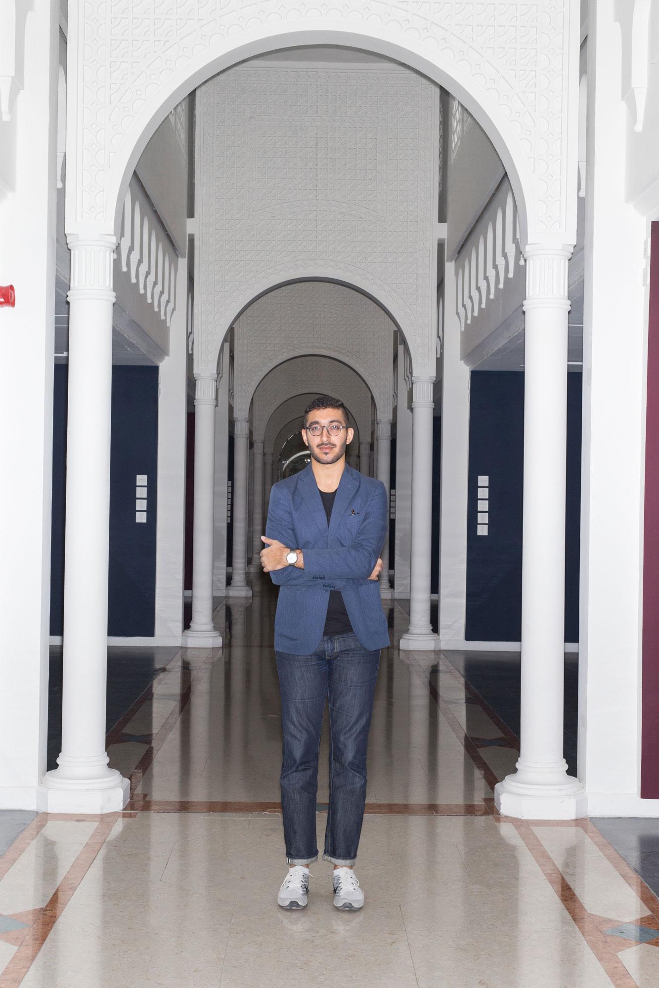 Karim Sultan, curator at Barjeel Art Foundation