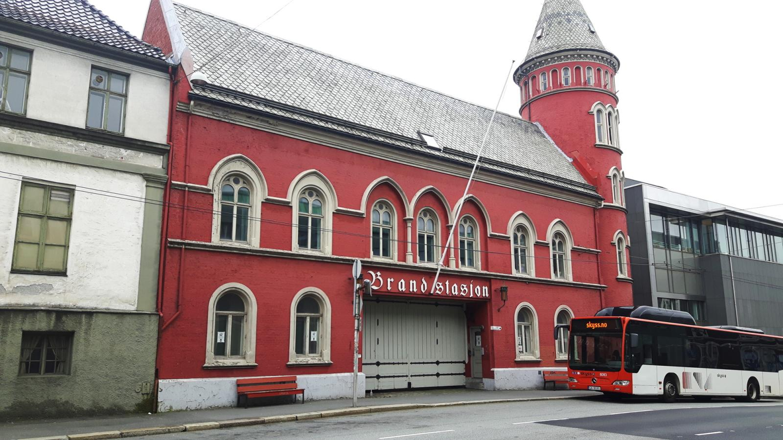 Bergen Gamle Brannstasjon Bergen Assembly 2016 venue Photo: Linn Heidi Stokkedal