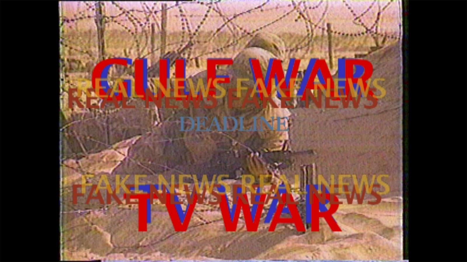 Michel Auder /Gulf War TV War/(1991, edited 2007)