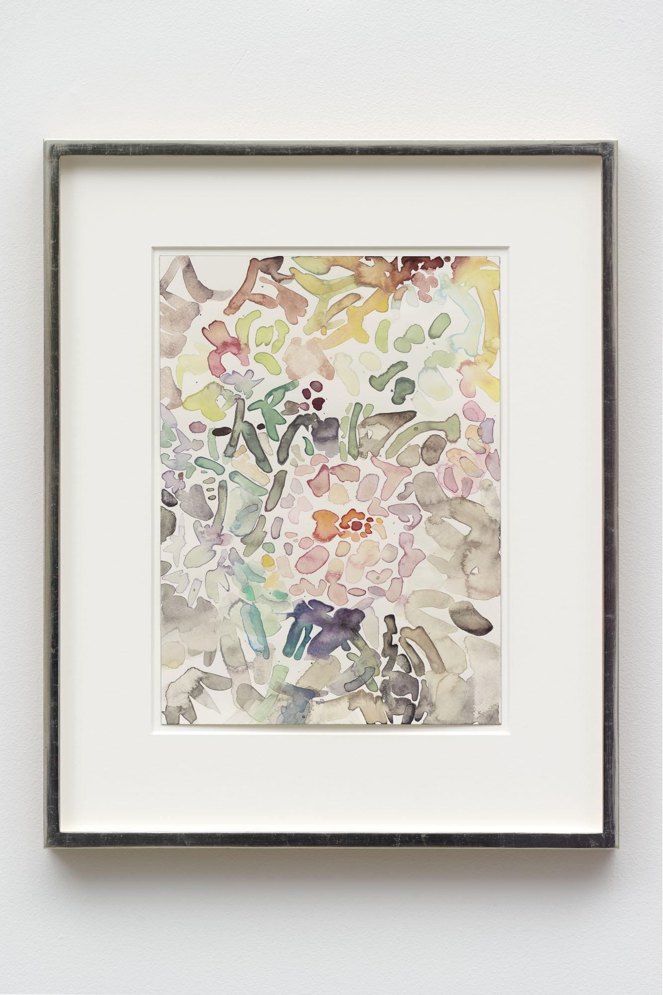 Elizabeth Peyton,/Wildflowers/, 2020, watercolor on paper, 14 × 10 inches;  35.6 × 25.4 cm, 43.8 × 54 cm (framed)