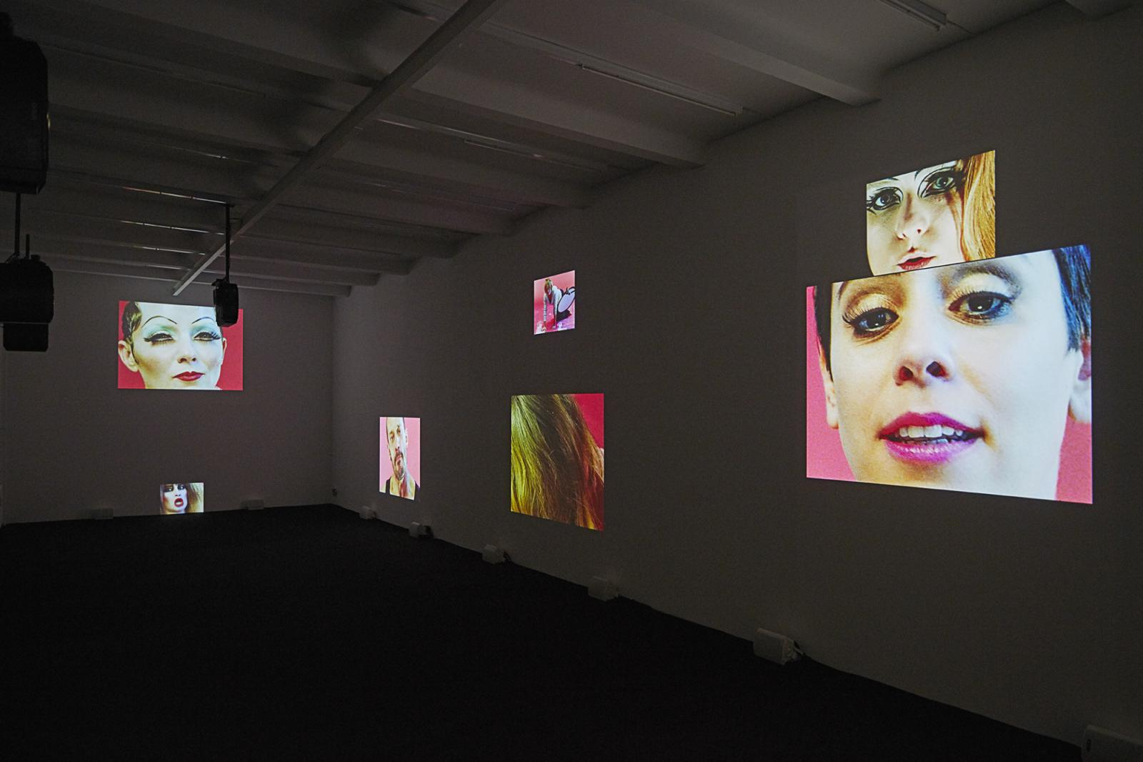Dara Friedman /Dichter/(2016) installation view at Supportico Lopez
