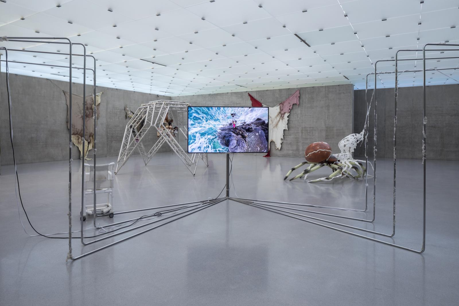Installation view first floor, Kunsthaus Bregenz, 2019 Photo: Markus Tretter, Courtesy of the artist, © Raphaela Vogel, Kunsthaus  Bregenz