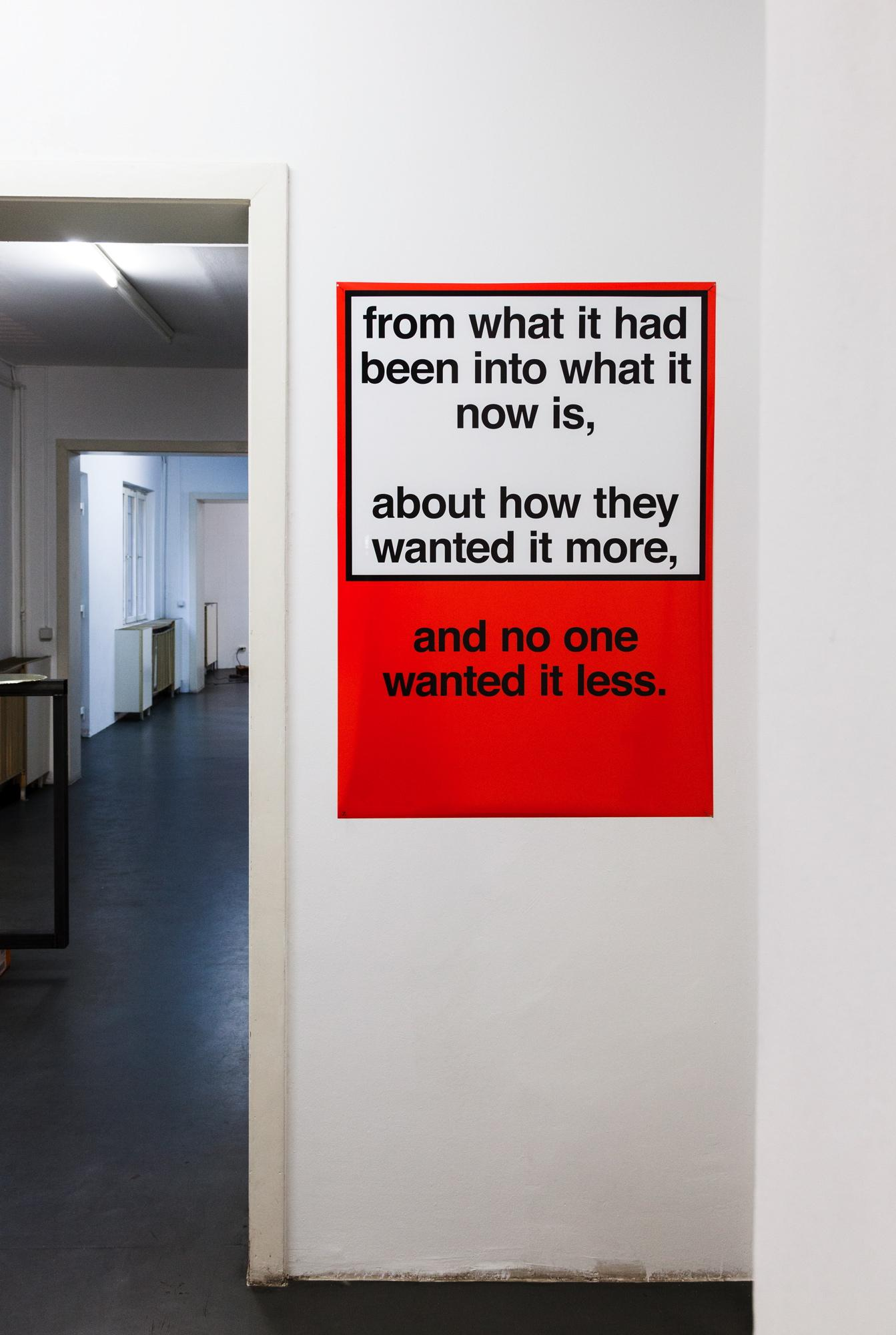 Nora Turato from what it had been into what it now is, …, 2018,Inkjet Print, 84,1 x  118,9 cm, unique