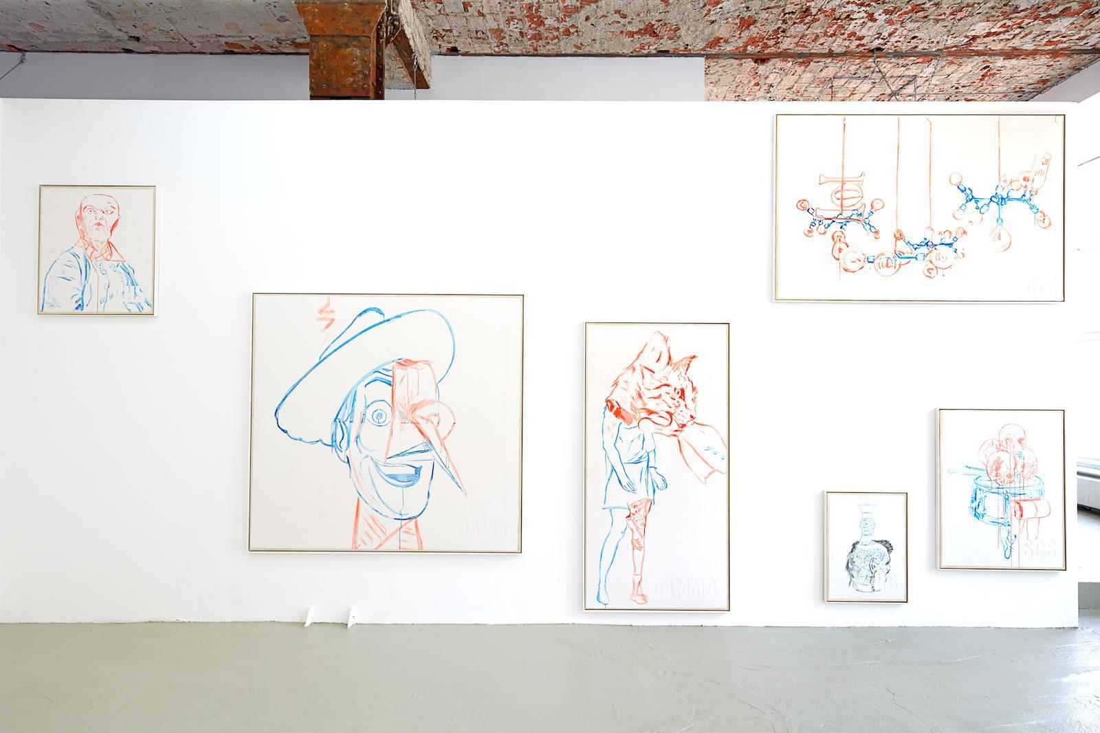 Paolo Chiasera /Frankenstein/ installation view at PSM