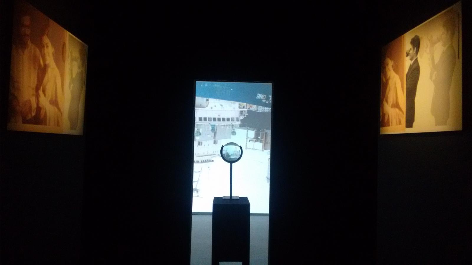 Ranjit Kandalgaonkar /Porthole, Sextant I & II/, 2016 Lens Assembly, Single channel video