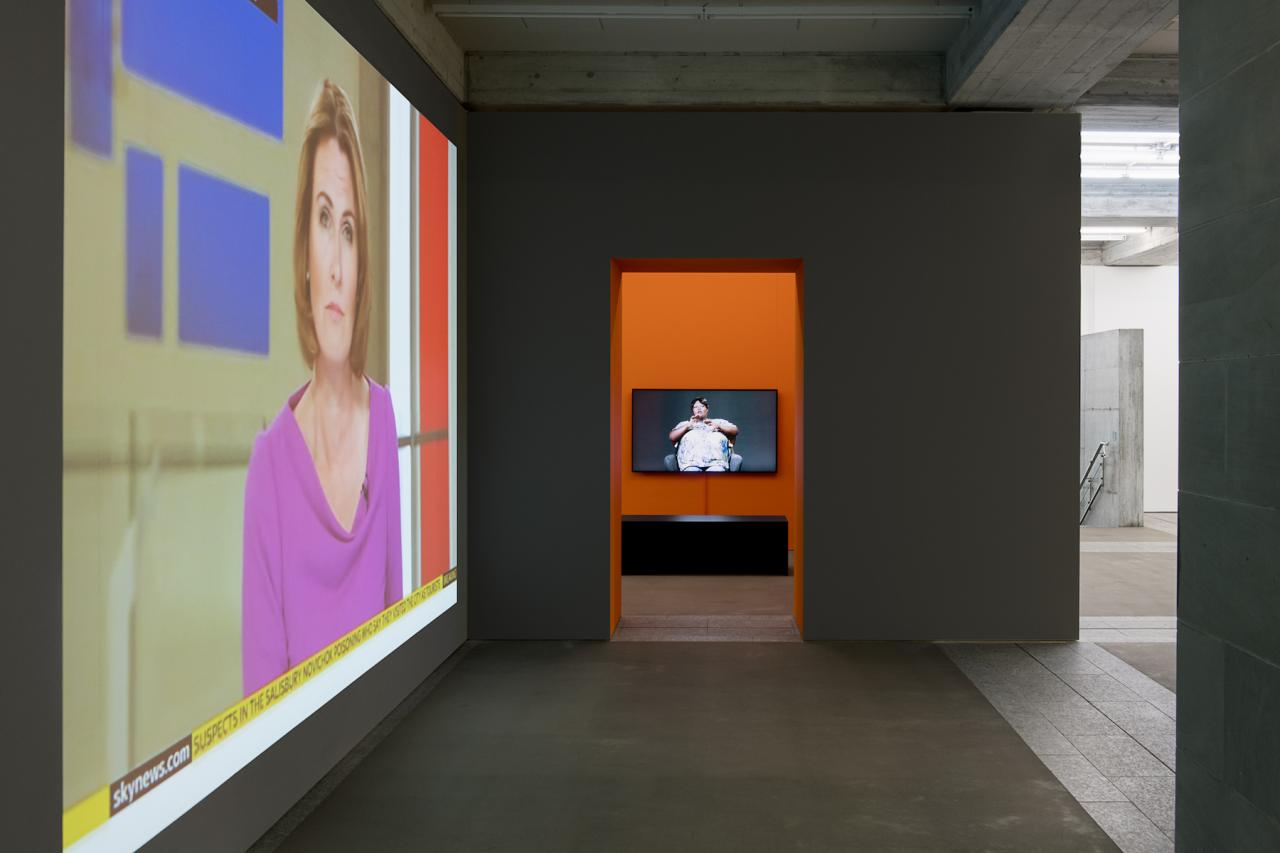 Installationsansicht St.Gallen Photo: Sebastian Stadler