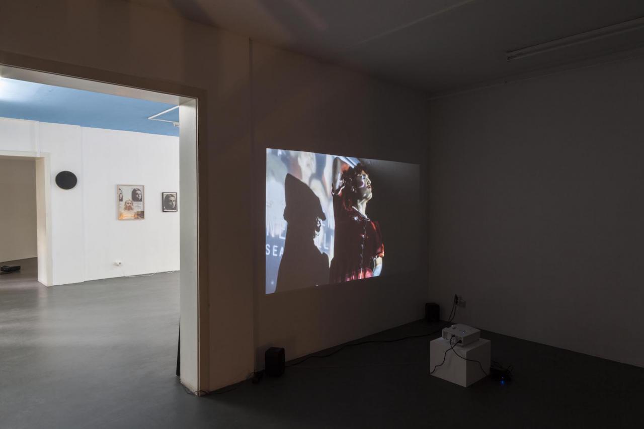 Installation view Annika Larsson