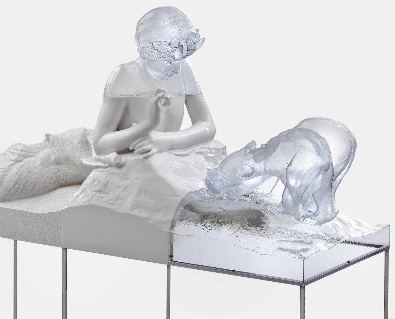 Pan with Bears (2017), Courtesy the artist, Metro Pictures, New York, and Tanya Leighton, Berlin