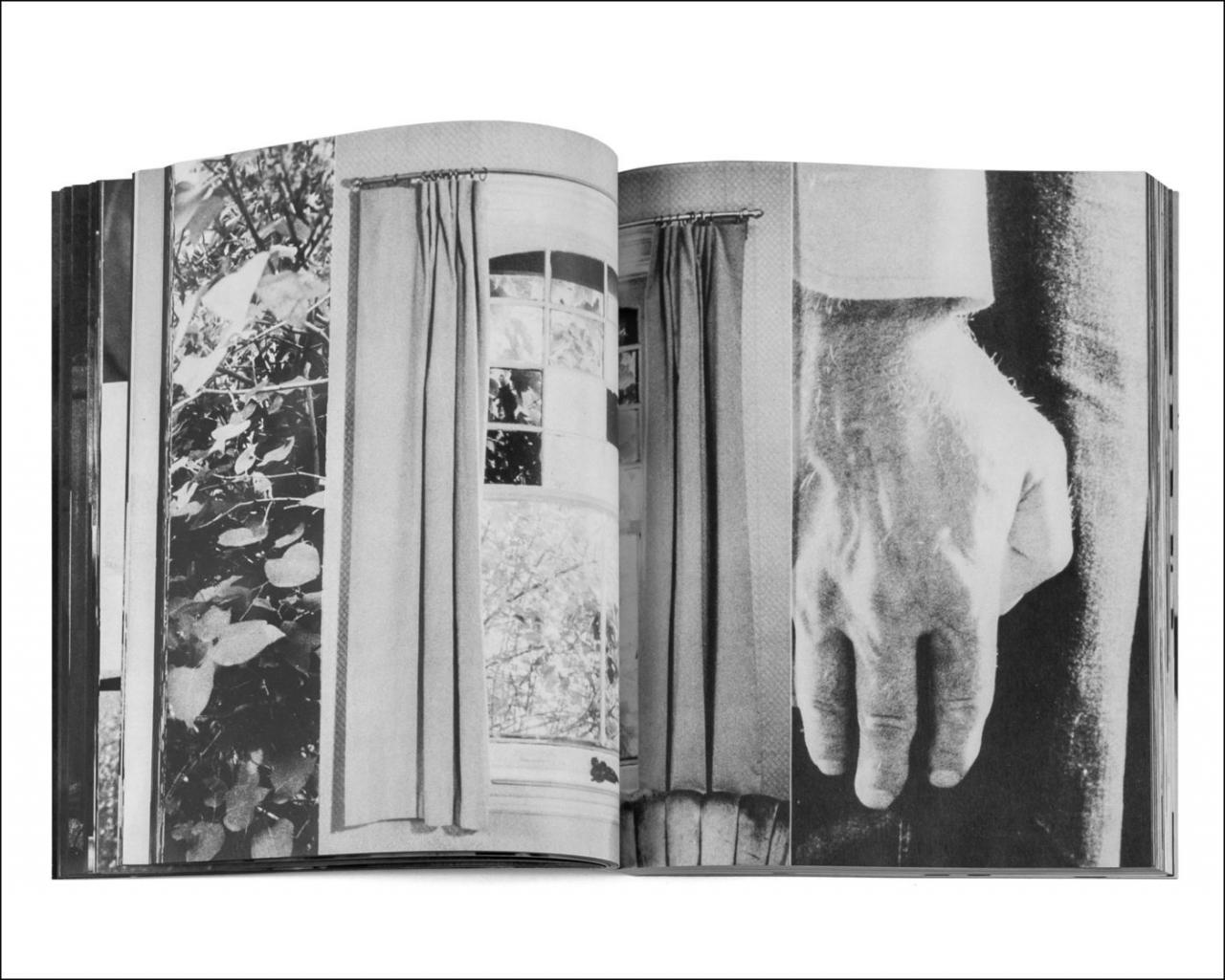 Spread from Cover to Cover by Michael Snow, Press of the Nova Scotia College of Art and Design (1975).