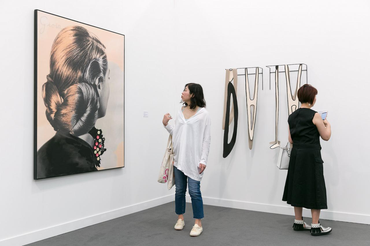 Frieze New York 2018 Photo: Mark Blower, Courtesy Mark Blower/Frieze