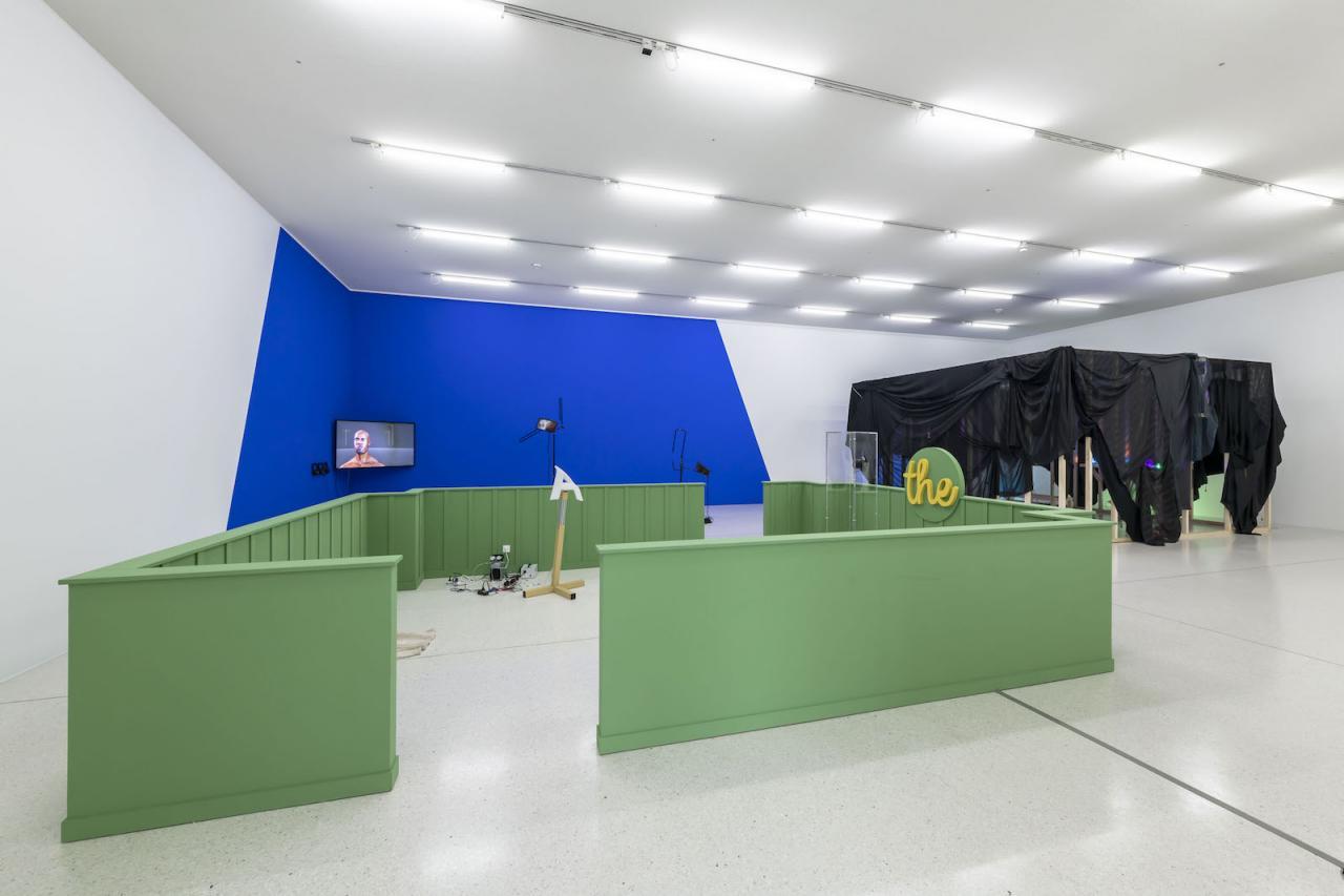 Installation view at Westfälischer Kunstverein,2018;Photo: Thorsten Arendt
