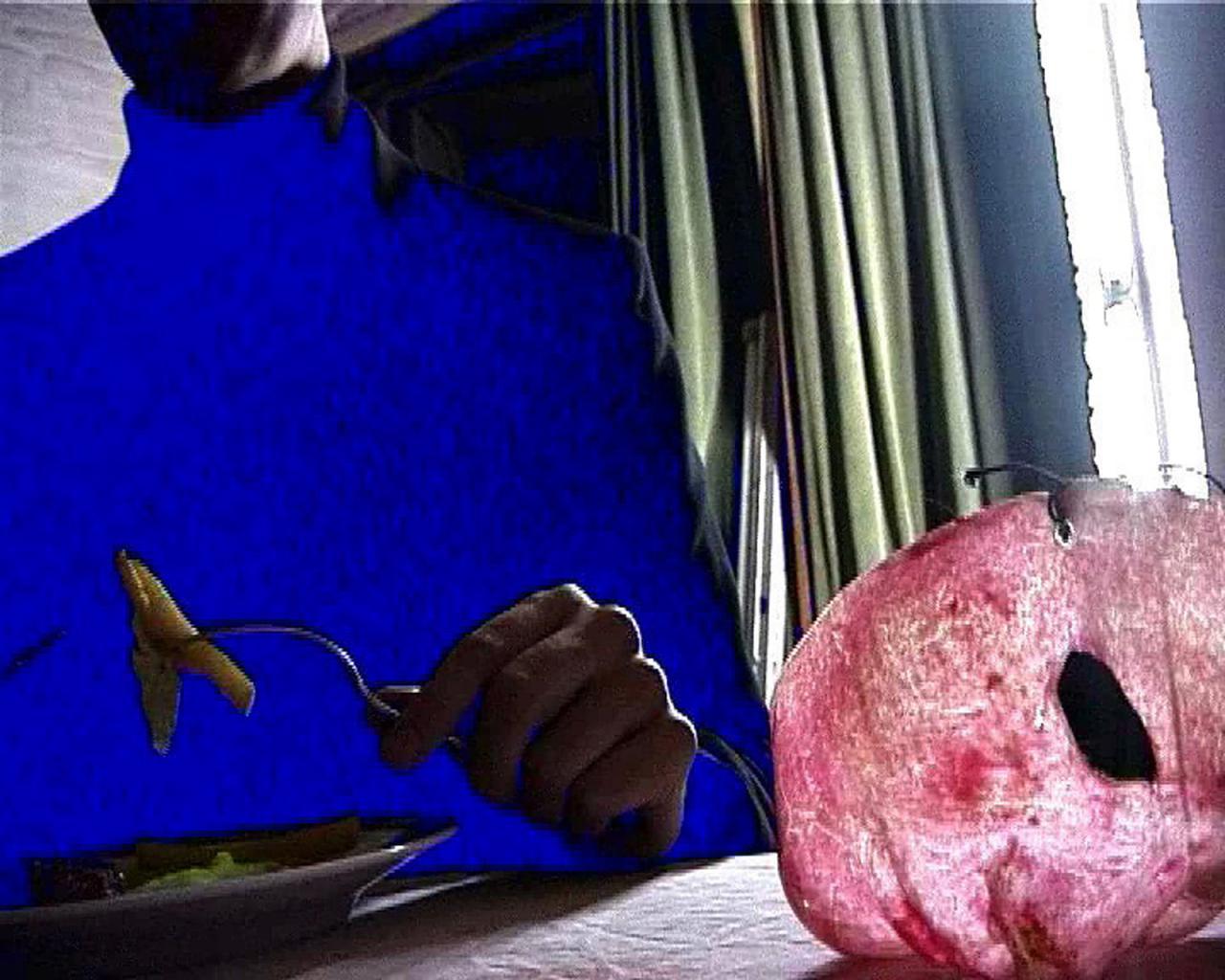 AMVK Dieper (video still,2003) CourtesyAMVK and Zeno X Gallery Antwerpen;Image: AMVK