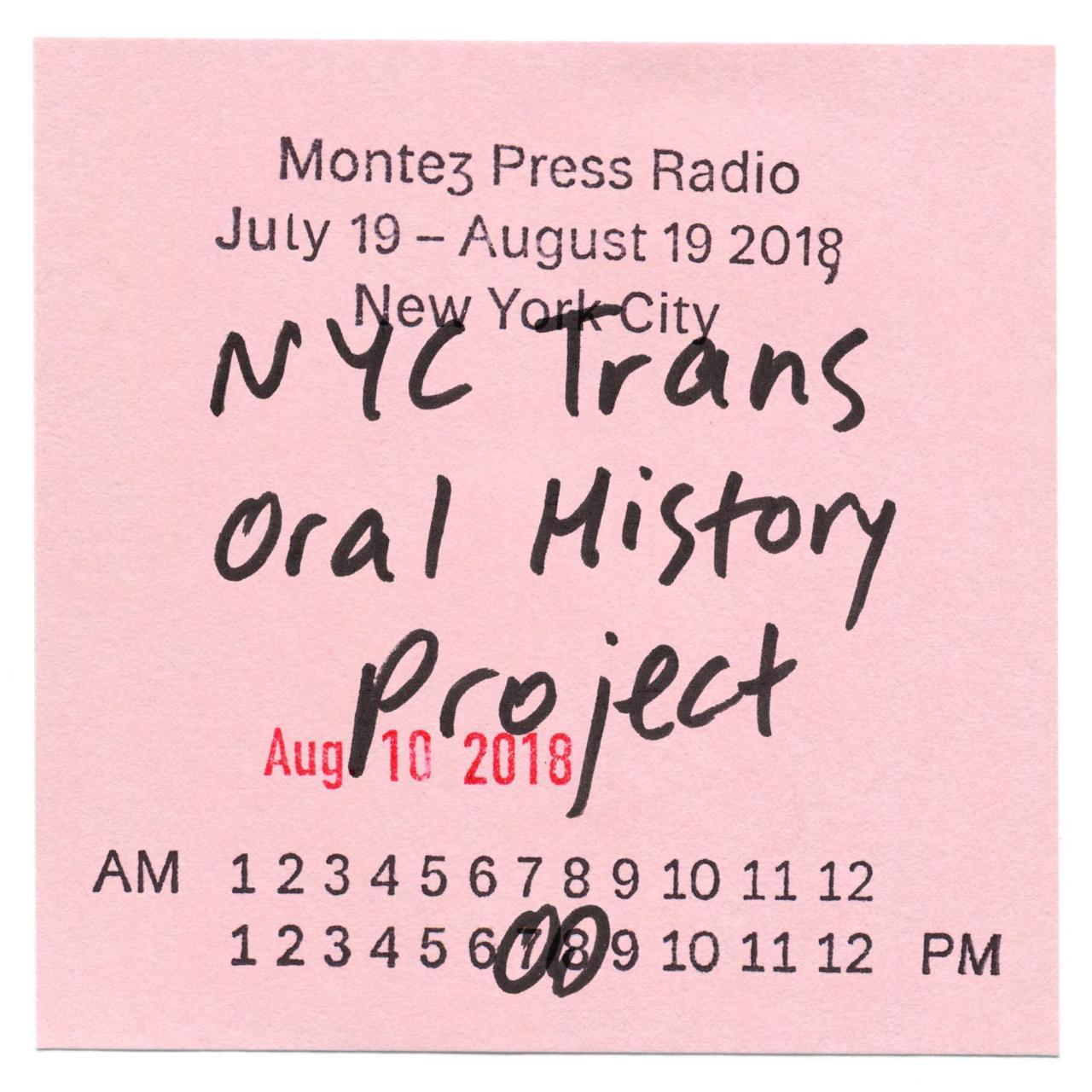 Flyerfor Montez Press Radio