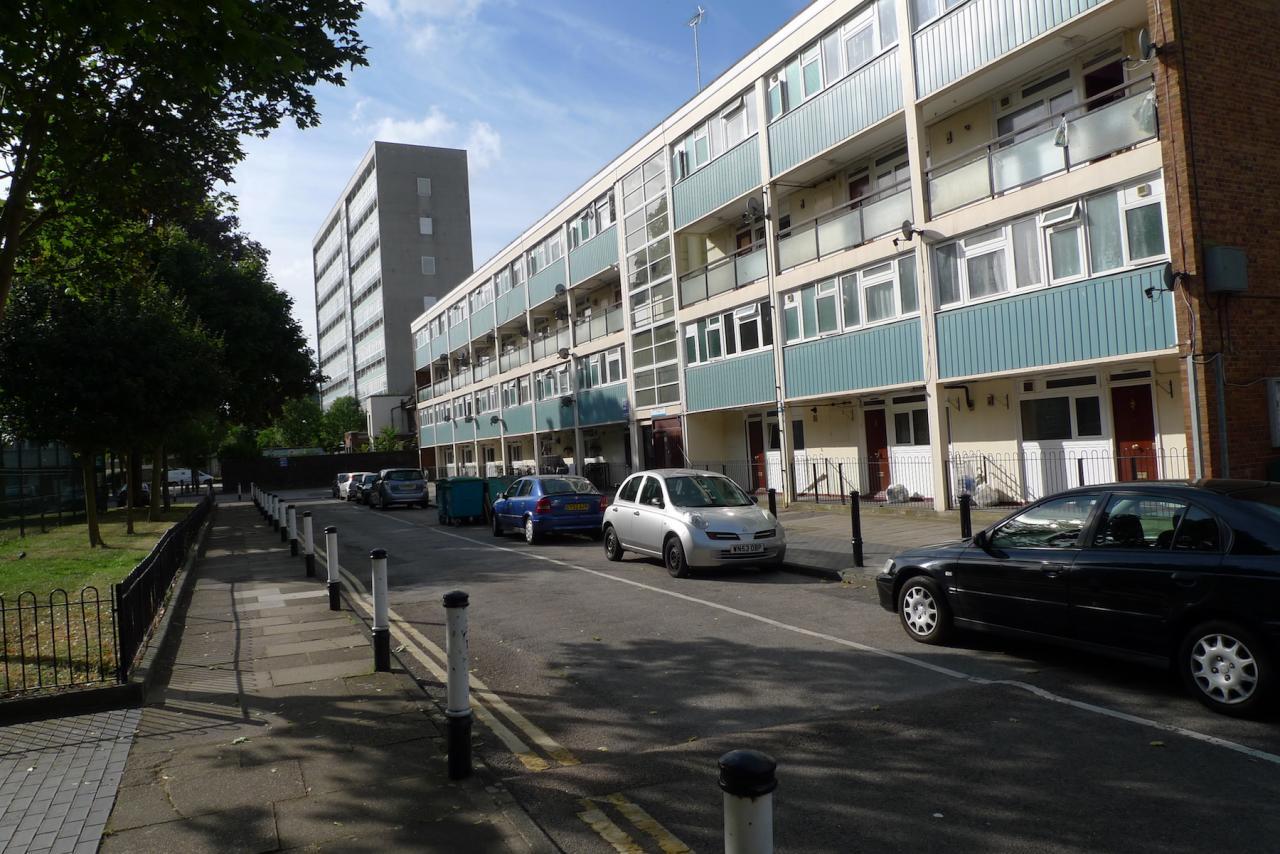 Liam Gillick's apartment house in Peckham
