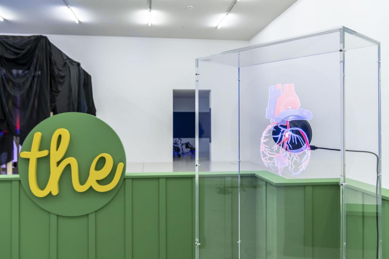 Antoine Catala Installation view at Westfälischer Kunstverein, 2018;Photo: Thorsten Arendt