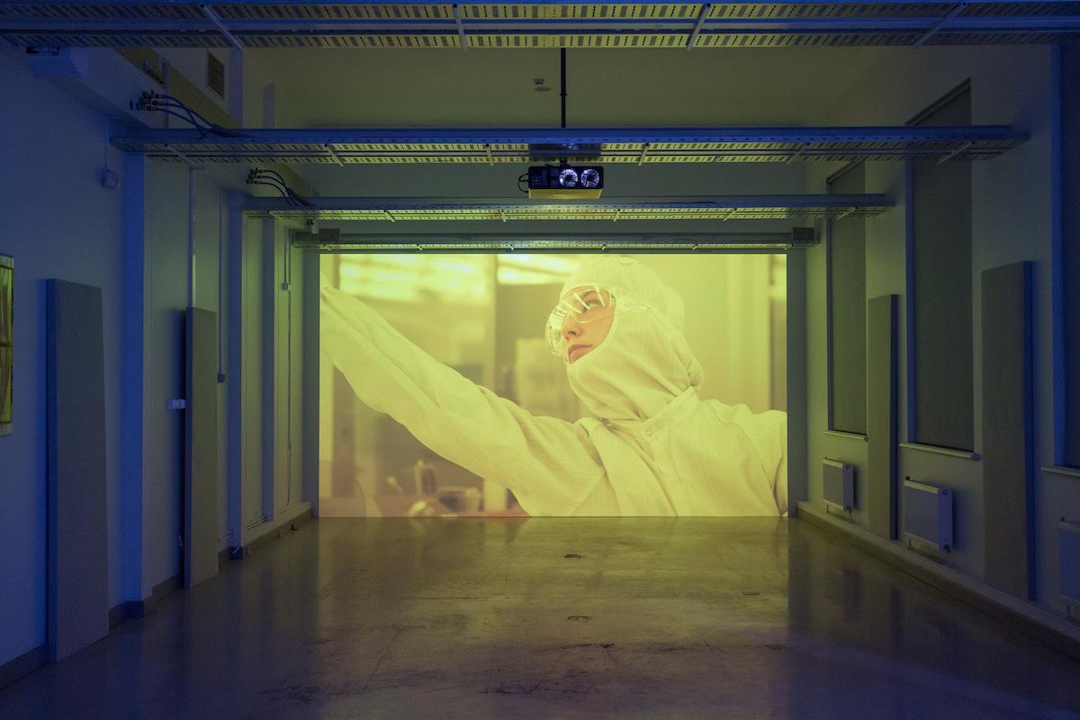 "Kerstin Hamilton ""Zero Point Energy""  (2016) Courtesy of the artist;Photo: Vladimir Svetlov"