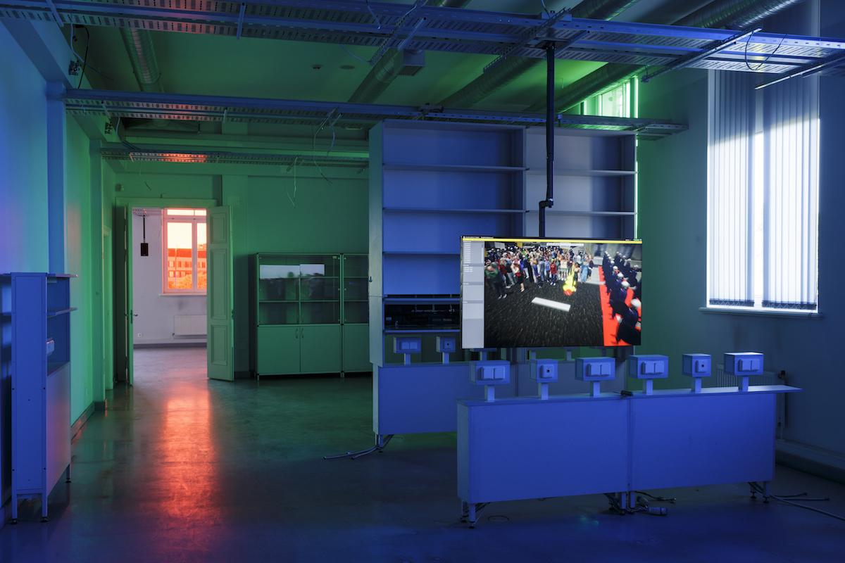 "Clemens von Wedemeyer ""Transformation Scenario"" ( 2018,detail) Courtesy of the artist, Galerie Jocelyn Wolff, Paris and KOW, Berlin;Photo: Andrejs Strokins"