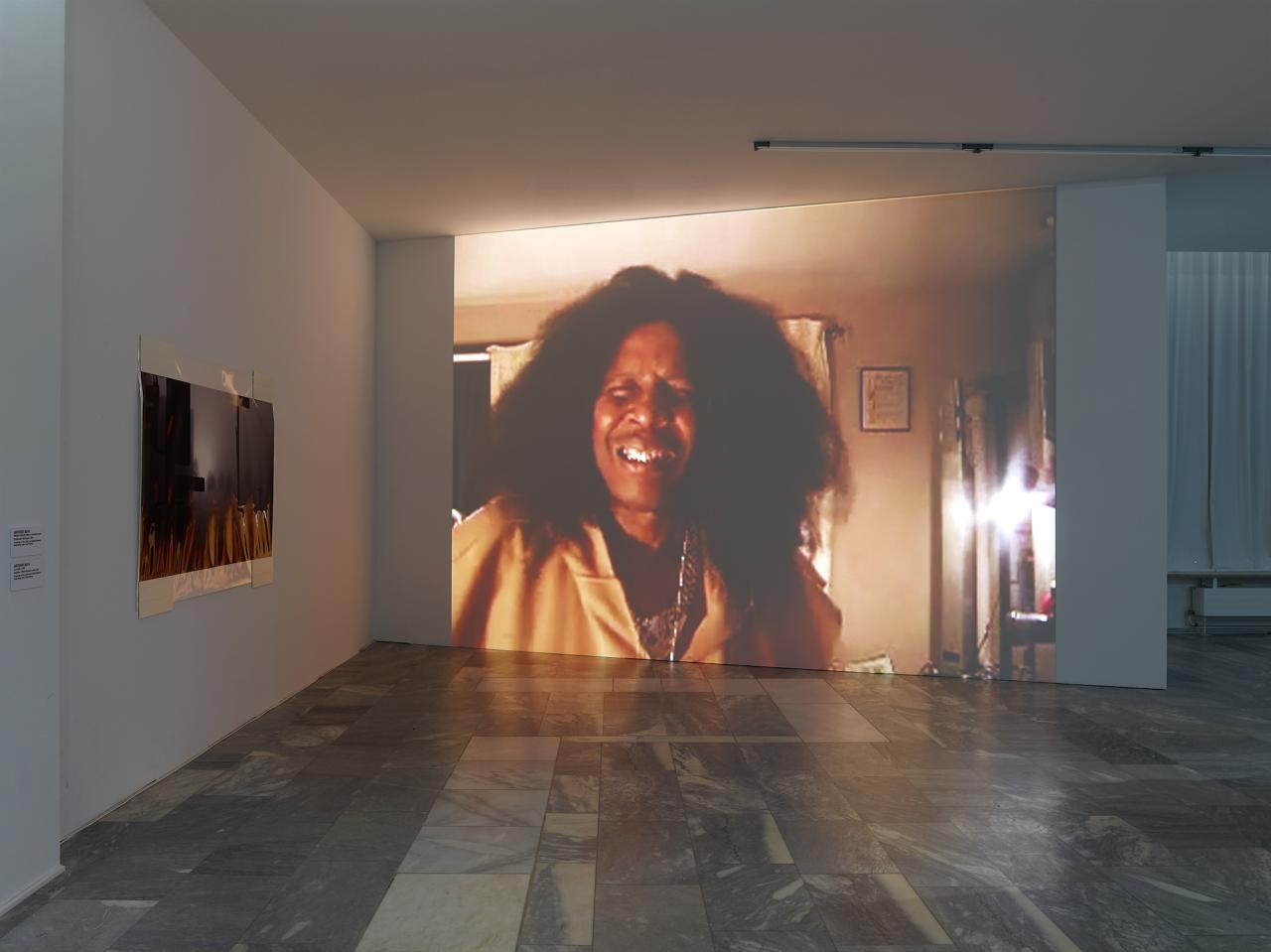 Arthur Jafa, Apex (2013), installation view