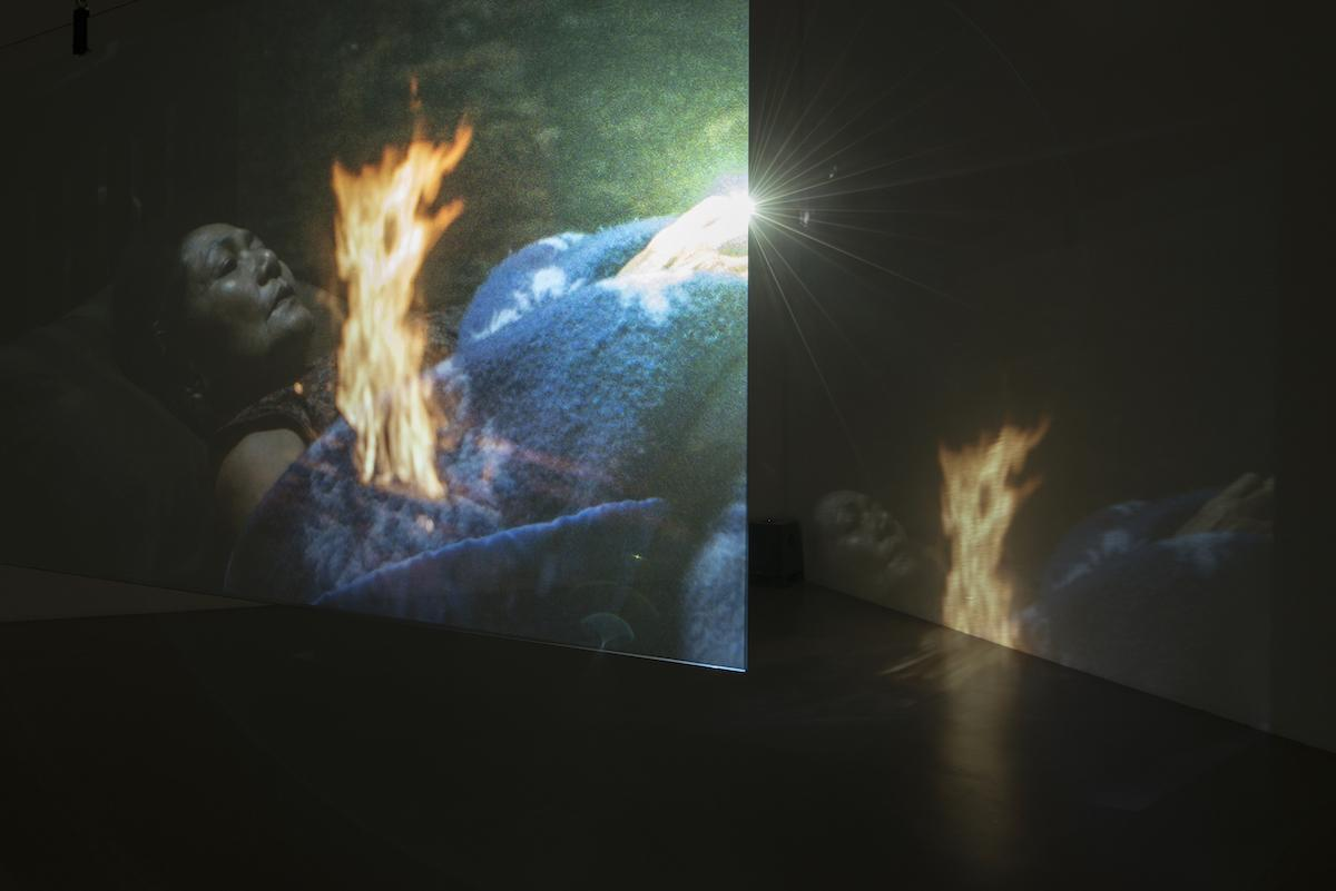 Apichatpong Weerasethakul Blue (2018, Performance)at Ghost:2561