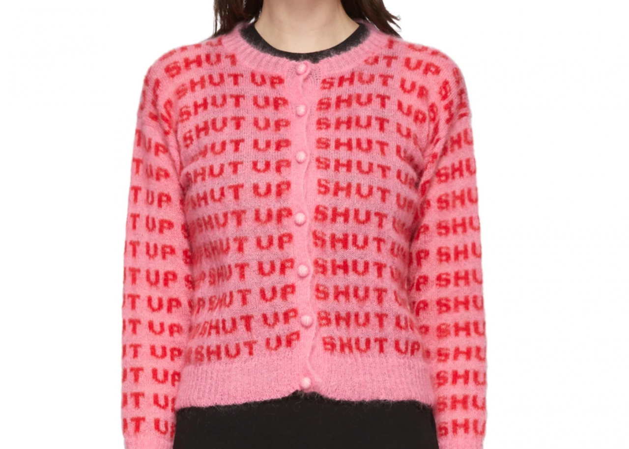 Shut-Up Sweater byAshley Williams