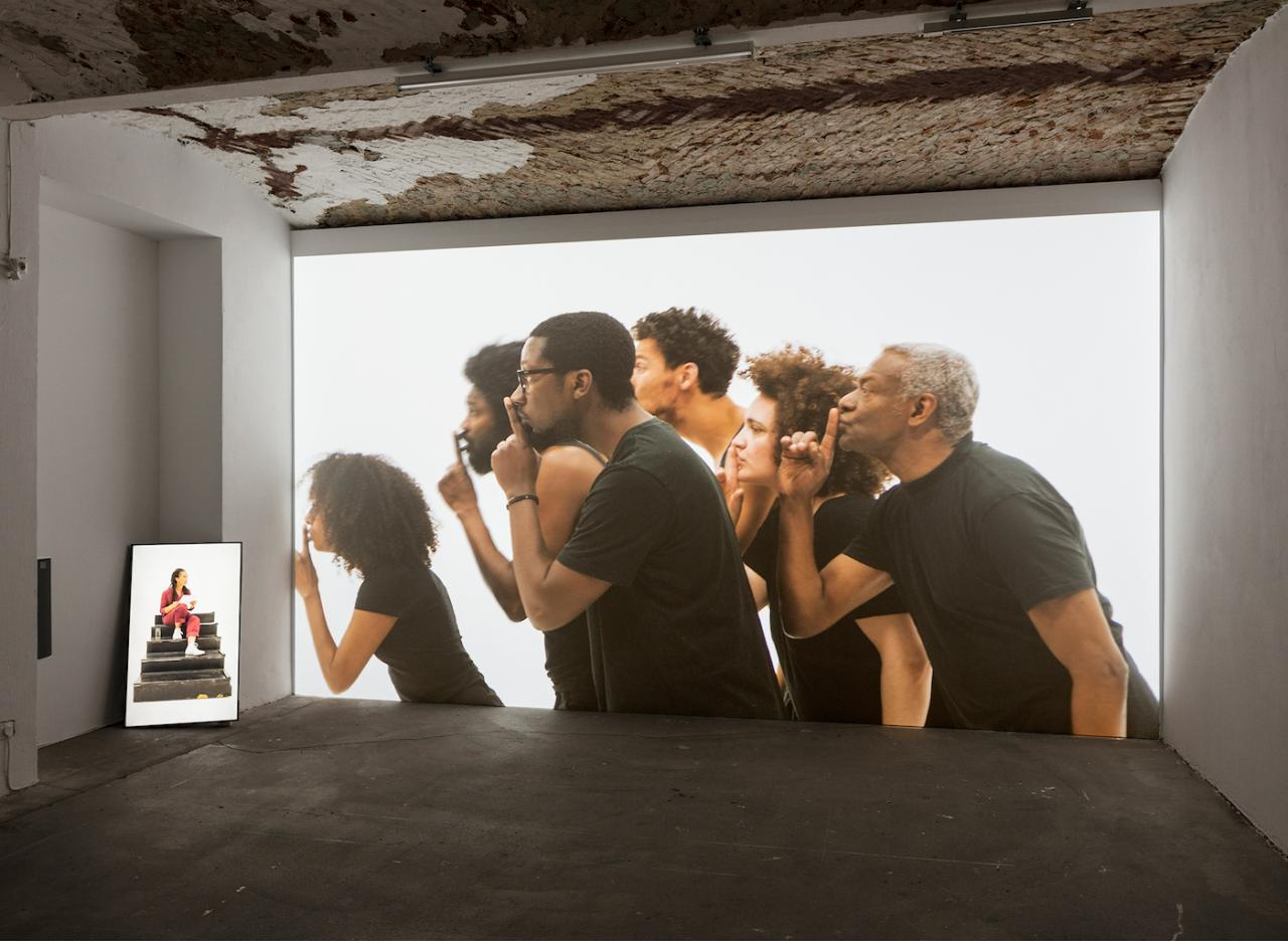 Grada Kilomba ILLUSIONS Vol. II, OEDIPUS  (2018) Courtesy Grada Kilomba; Goodman Gallery, Johannesburg/Cape Town, Photo: Timo Ohler