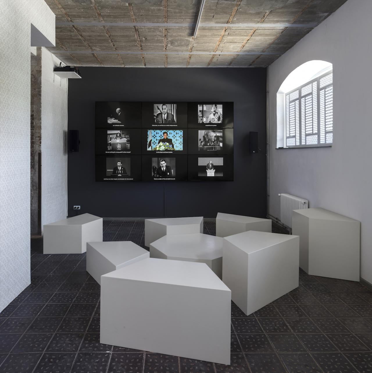 Heba Y. Amin Operation Sunken Sea (The Anti-Control Room)  (2018) Courtesy Heba Y. Amin; Zilberman Gallery, Istanbul/ Berlin, Photo: Timo Ohler