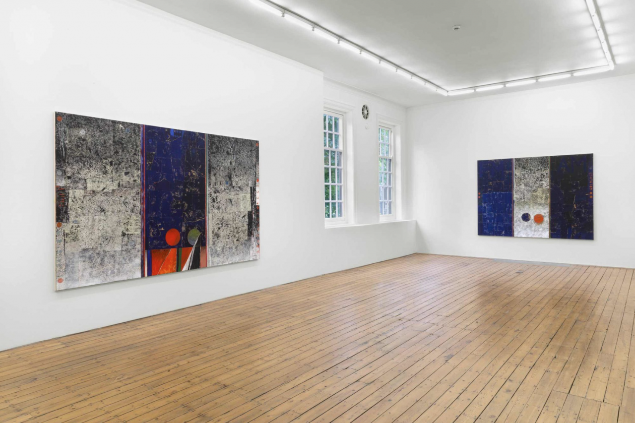 "Sam Windett ""Motorway IV"", installation view at Marinaro Marinaro hosting The Approach, London"