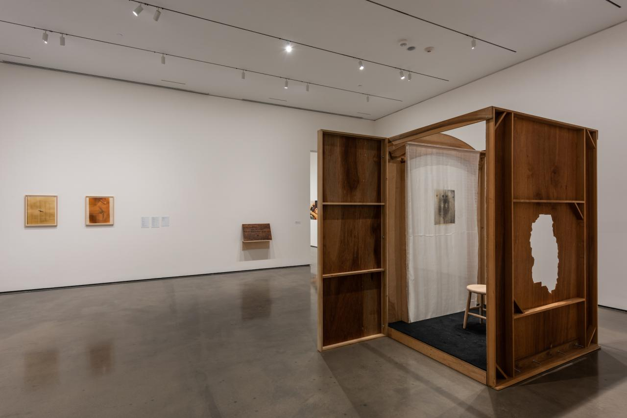 """The Conditions of Being Art: Pat Hearn Gallery and American Fine Arts, Co. (1983–2004)"", Hessel Museum of Art , 2018, Exhibition view"