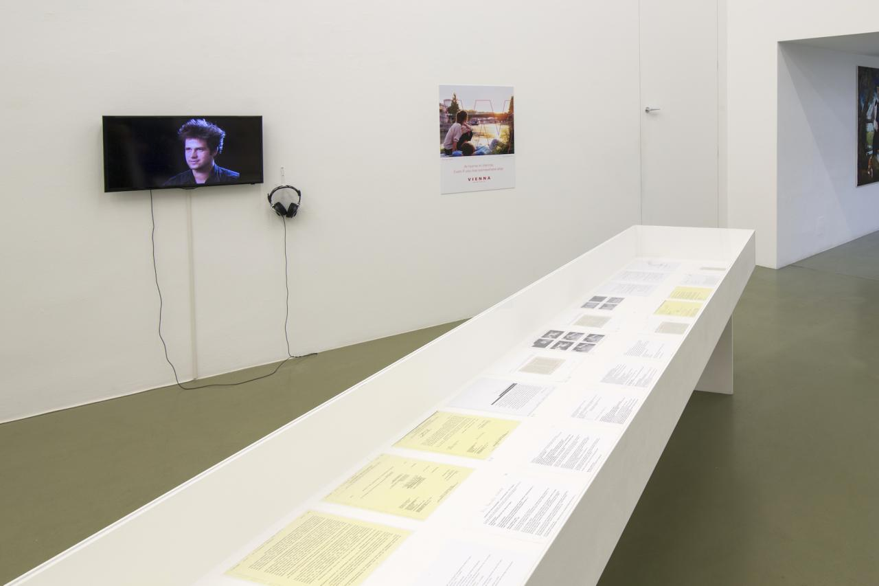 """Installation view of """"Now Forever"""" curated by_Mark Rappoltat Galerie Crone Courtesy Galerie Crone;Photo: Lukas Dostal"""