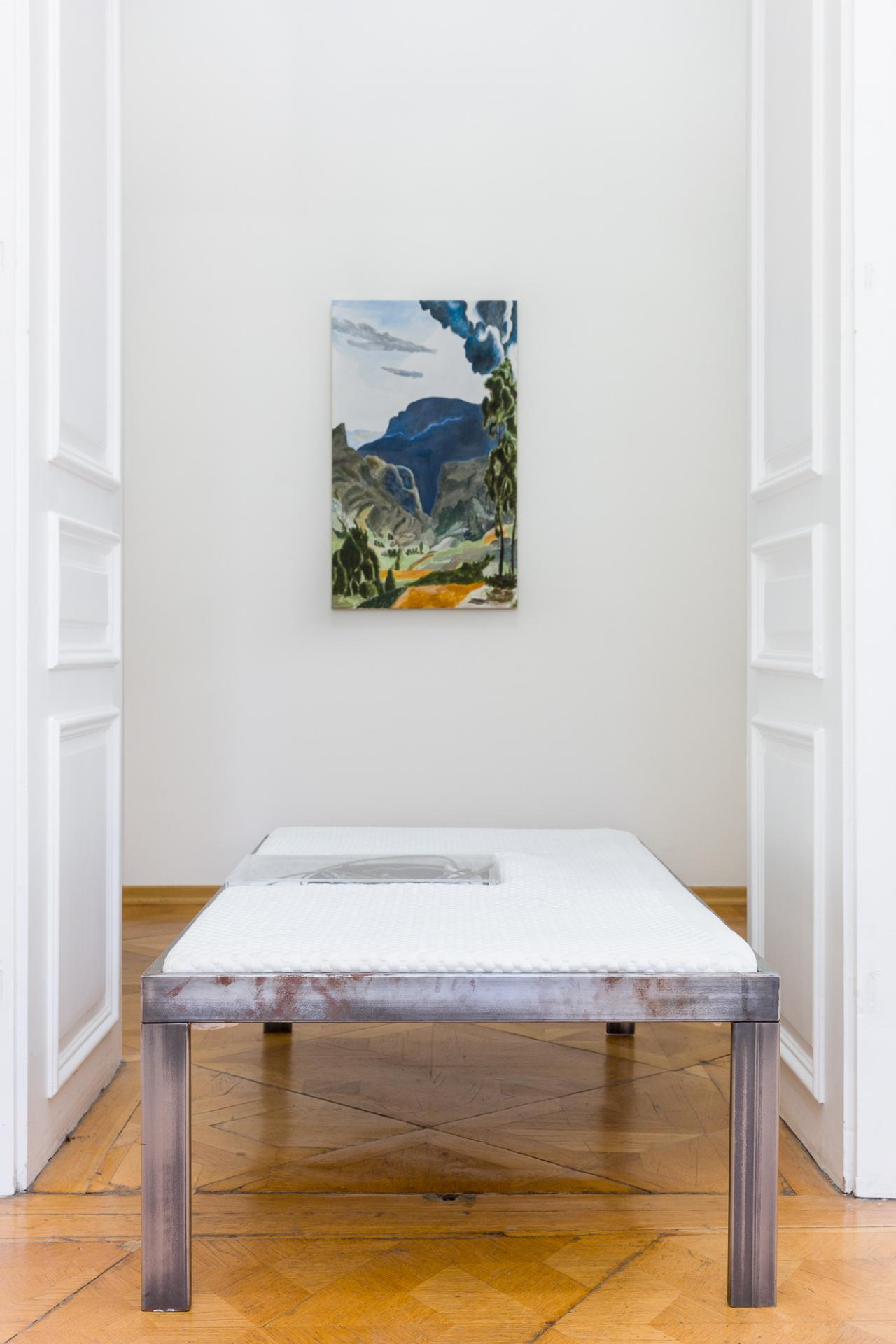 Dario Wokurka Meditating on Inheritable States II (2017) Fron: Marina Sula Faustidio (2018) Courtesy the artist and Croy Nielsen, Vienna;Photo: Kunst-dokumentation.com