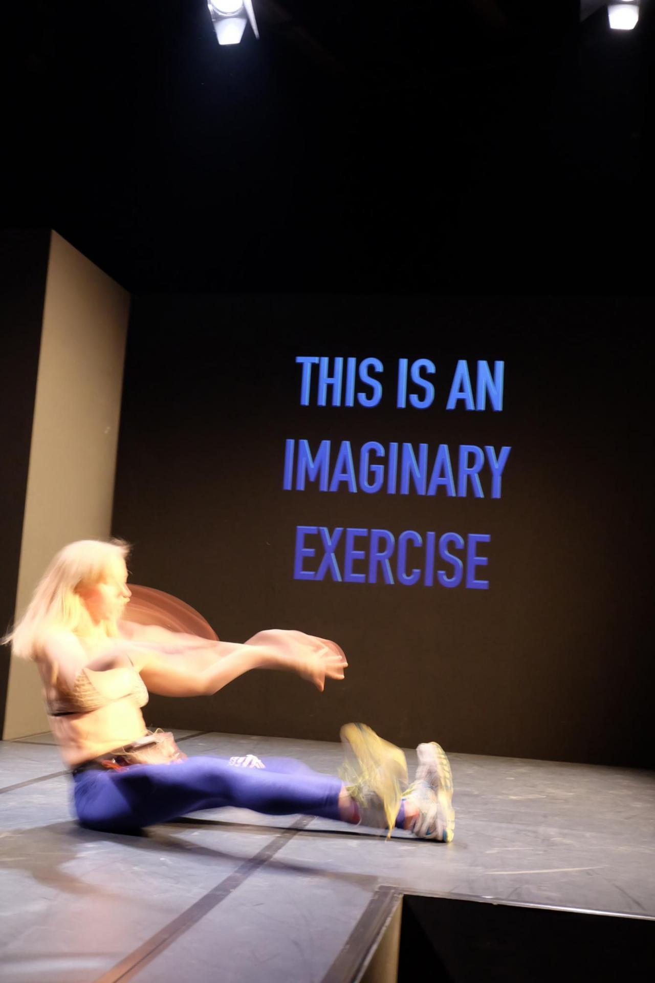 Deborah Hazler performance. Courtesy: the artist