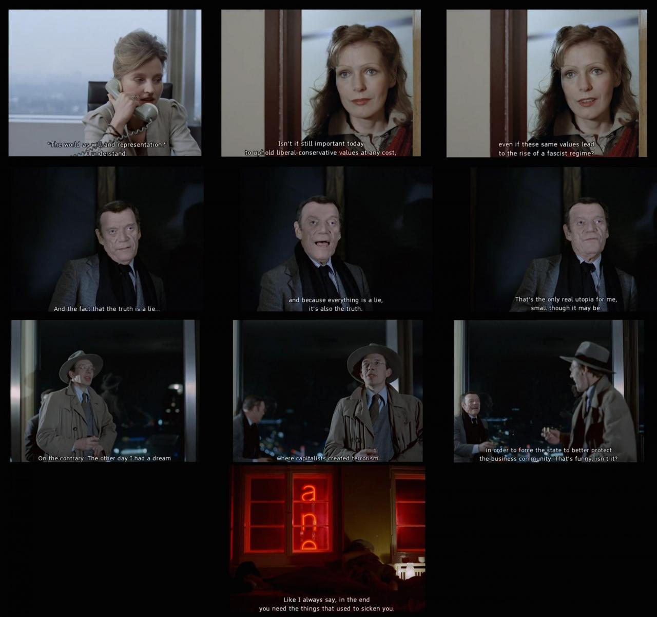Stills from  Die dritte Generation  (1979)