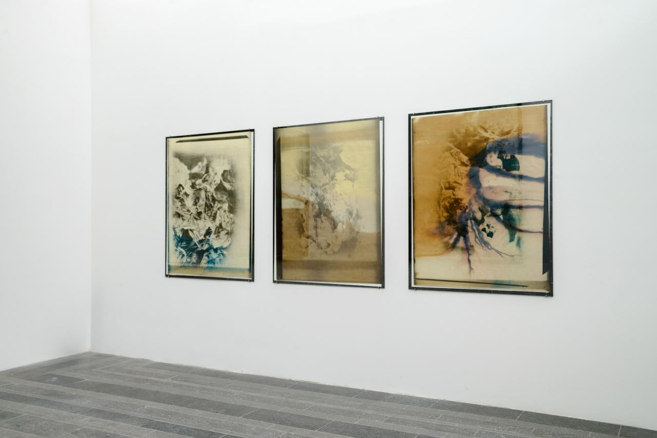 Dmytro Starusiev Three Sisters's Story (2017) Installation view of the exhibition of the shortlisted artists for the PinchukArtCentre Prize 2018