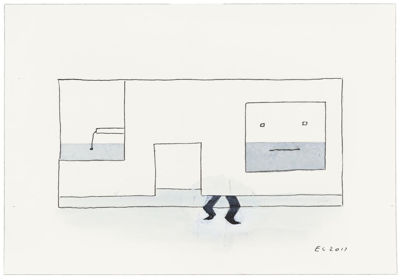 Ernst Caramelle Ohne Titel (2017)  Photo: Markus Wörgötter;Courtesy Galerie nächst St.Stephan Rosemarie Schwarzwälder