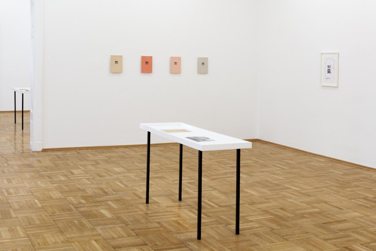 "Ernst Caramelle ""almost untitled"" (2018-19), exhibition view Photo: Markus Wörgötter;Courtesy Galerie nächst St.Stephan Rosemarie Schwarzwälder"