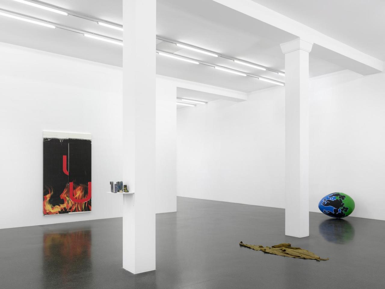 """Installation view, """"Arrows"""",Francesca Pia, Zurich, 2020"""