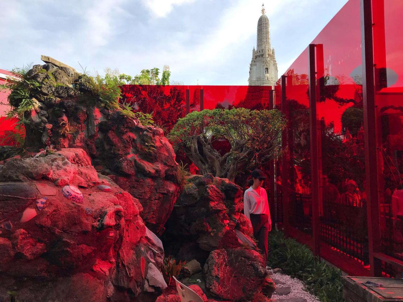 Sanitas Pradittasnee Across the Universe and Beyond (2018) at Bangkok Art Biennial Courtesy Bangkok Art Biennial 2018