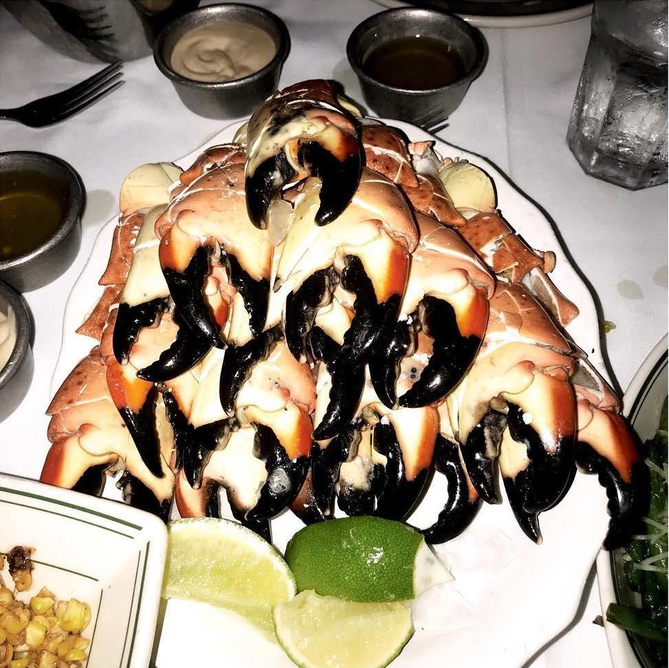 Joe's Stone Crab Photo: @kstroleny on Instagram