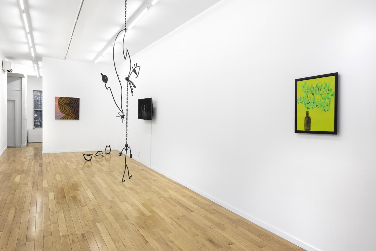 Installation view at Chapter NY